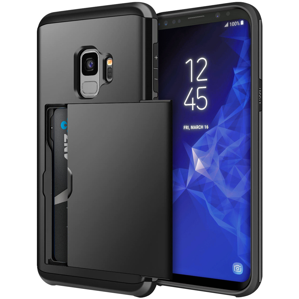 samsung s9 case card holder